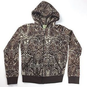 Juicy Couture Paisley Velour jacket